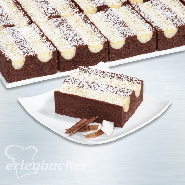 Erlenbacher Schoko Kokos Schnitte