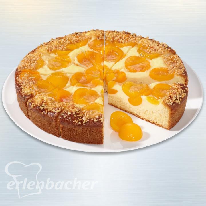Erlenbacher Premium Aprikosen Joghurt Torte