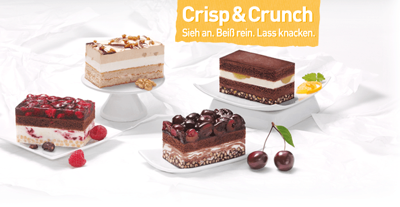 Crisp & Crunch Slices: a treat in a whole new dimension