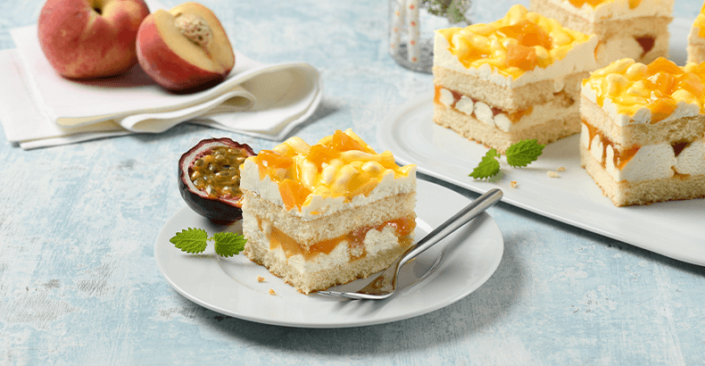 Passion Fruit Skyr Slices